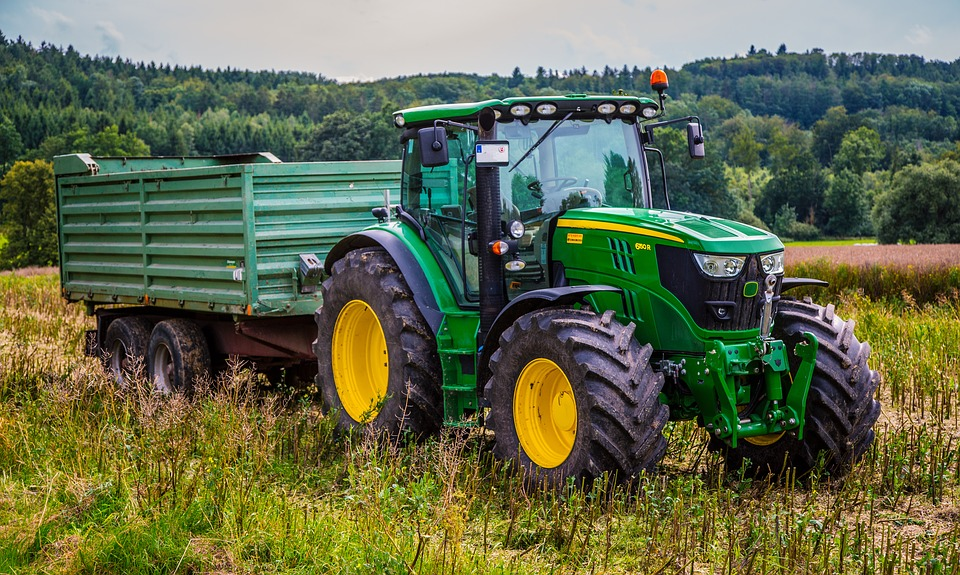image tracteur john deere